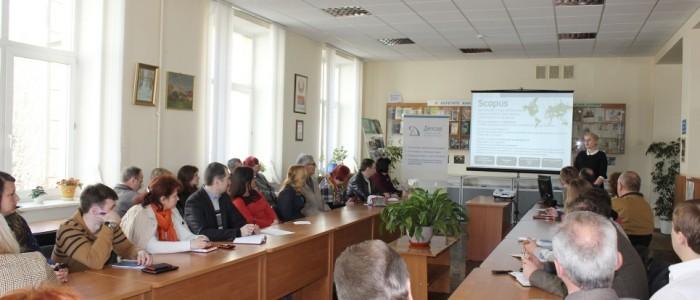 Семинар для ученых по базе данных SCOPUS в БГАТУ