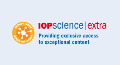 IOP Science Extra