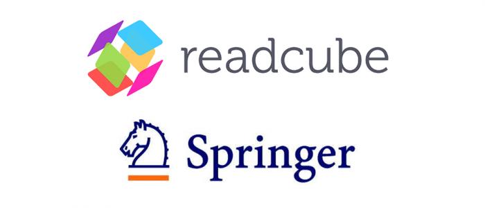 Сртрудничество Springer и ReadCube