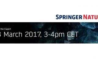 Springer Nature: вебинар по технологиям Google