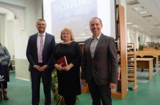 Oxford University Press представил Мартин Дембовский (Marcin Dembowski)